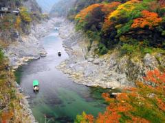 祖谷渓タクシー 大歩危峡