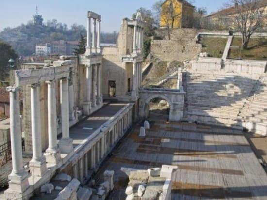 ローマ帝国時代の円形劇場(プロヴディフ)