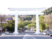 鳥居2(照国神社)