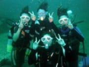 体験ダイビング3