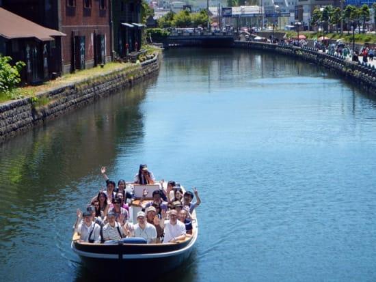 小樽運河クルーズ (8)