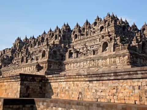 世界遺産ボロブドゥール遺跡