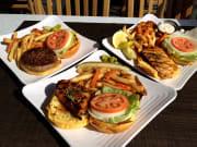 Pikake Menu - Fish Chicken Burger
