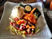Orchid Menu - Teri Chicken & Coconut Shrimp