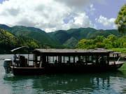 四万十川の屋形船