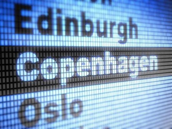 コペンハーゲン電光掲示板
