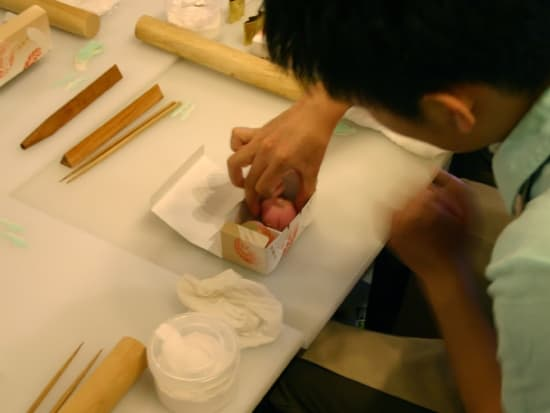 和菓子作り体験07 風景一般アップ1