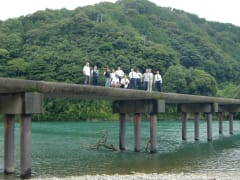 日本最後の清流四万十川と沈下橋
