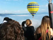 hot air balloon flight barcelona
