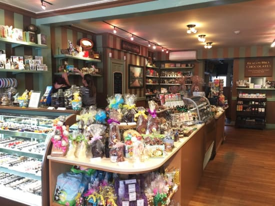 Beacon Hill Chocolates (inside)