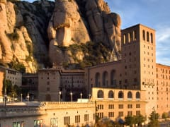monestir de montserrat - setmana santa