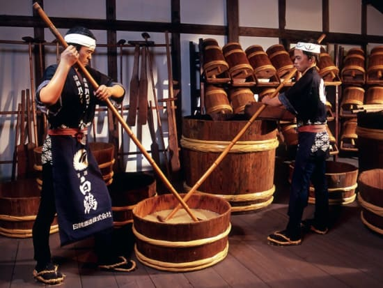43db53a8e47d Kobe Sightseeing and Nada Sake Brewery Walking Tour from Osaka ...