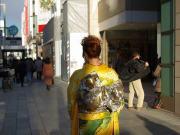 京都フォーシーズン キモノで銀ブラ06