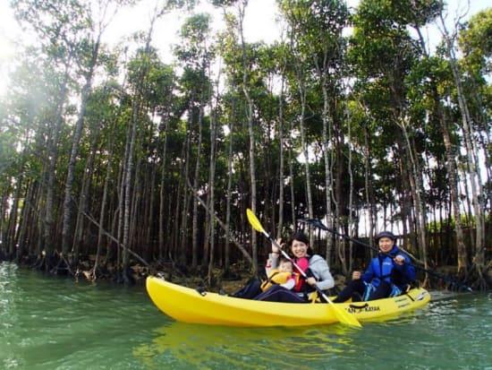 熱帯ジャングルカヤック体験 アンダゴ02