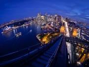 Climb up the iconic Sydney Harbour Bridge