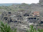 ウプリスツィ洞穴住居跡