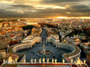 Roma, Italy, skyline