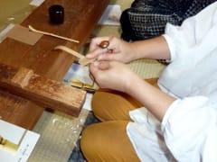 茶杓作り 翠華園02