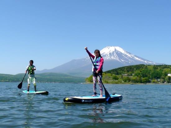 山中湖 WATER CRAB SUP体験メイン1
