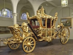 The Royal Mews, Buckingham, Gold State Coach