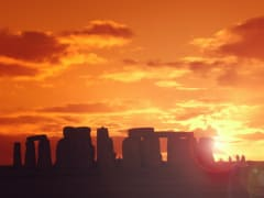 UK_London_Sunset at Stonehenge