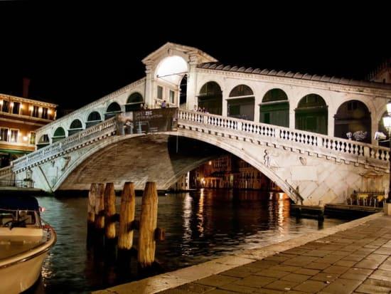 Italy, Venice, Night