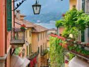 Italy, Como, Lake Como, village