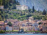 Lake Como, Italy, houses