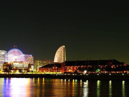 C横浜夜景 1時間半コース(赤レンガ倉庫)