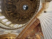 View up into the Dome of St Paul's Cathedral