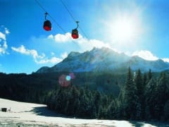 Dragon, cable car, Mt. Pilatus, swiss alps