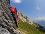 Dragon, cogwheel, Mt. Pilatus, swiss alps