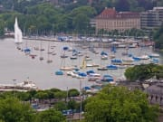 lake zurich, marina, zurich, switzerland, cruise