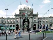 zurich, Hauptbahnhof, train, station, Zürich