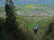 zurich, cable car, falsenegg, switzerland, lookout