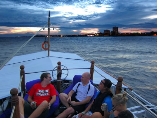 Mactan Banca Boat Group Sunset Cruise