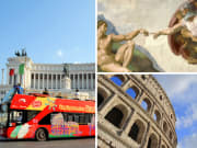 Italy Rome Colosseum Vatican Museums