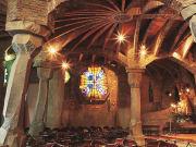 Gaudí crypt (Colònia Güell)