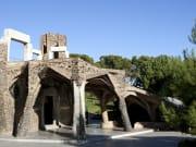 See the Gaudí crypt (Colònia Güell)