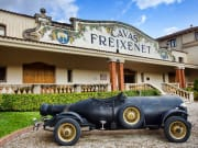Arrive at the winery of Cavas Freixenet
