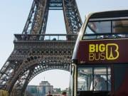 Big Bus Paris Eiffel Tower