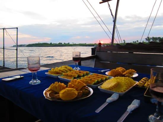 Mactan Banca Boat Sunset Cruise Fruit Platter