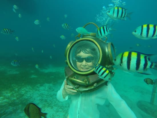 Cebu Mactan Helmet Dive
