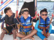Kid-friendly Parasailing