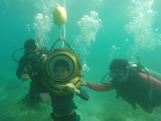 Cebu Helmet Diving Seawalker