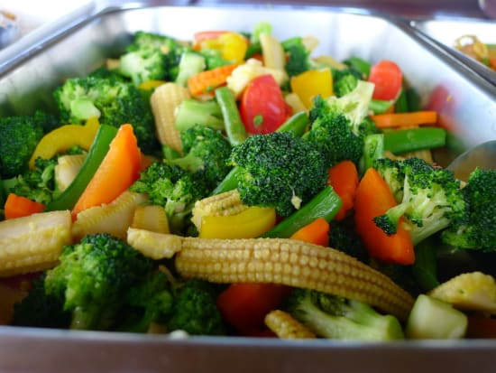 Assorted vegetables aboard the June Bahtra