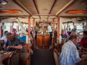 River Vltava, prague, cruise, lunch