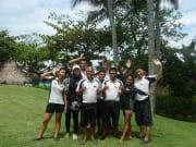 Cebu Mactan Helmet Dive Staff group photo