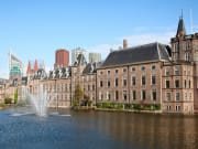 Parliament and court building complex Binnenhof