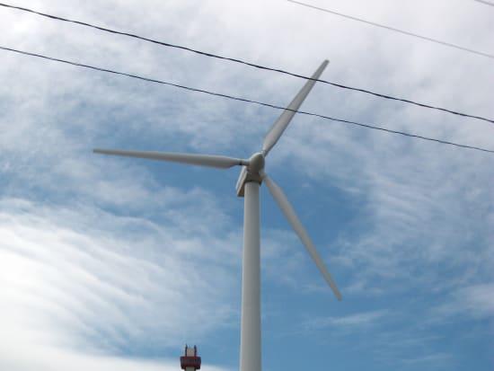稚内公園「風車と開基記念塔」
